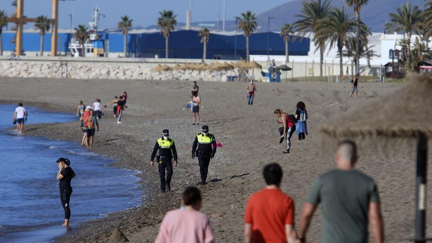La Policía Local reforzará durante fin de semana la vigilancia en paseos marítimos y zonas de previsible afluencia