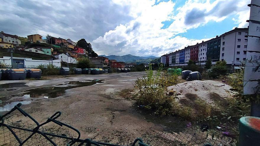 La última parcela libre de Langreo Centro se reservará para hacer vivienda pública
