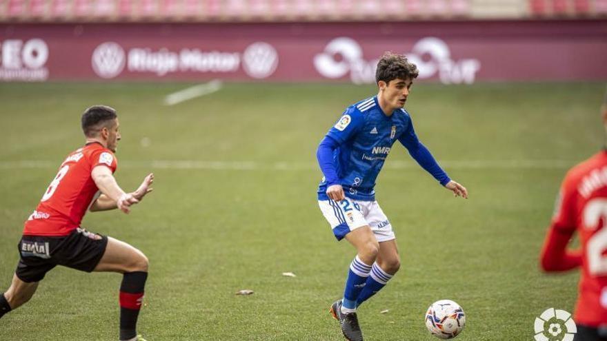 En directo: descanso en Las Gaunas tras un gol anulado al Oviedo (0-0)