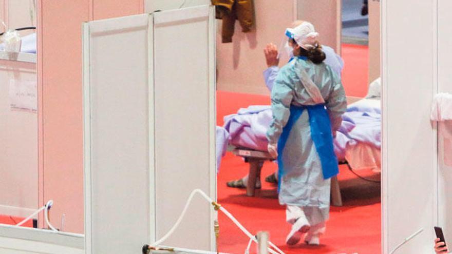 La lluita contra la pandèmia posa en relleu el compromís de la infermeria