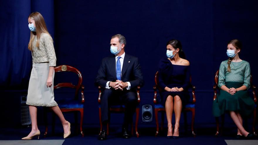 Leonor de Borbón apuesta por los tacones de una firma de Elda