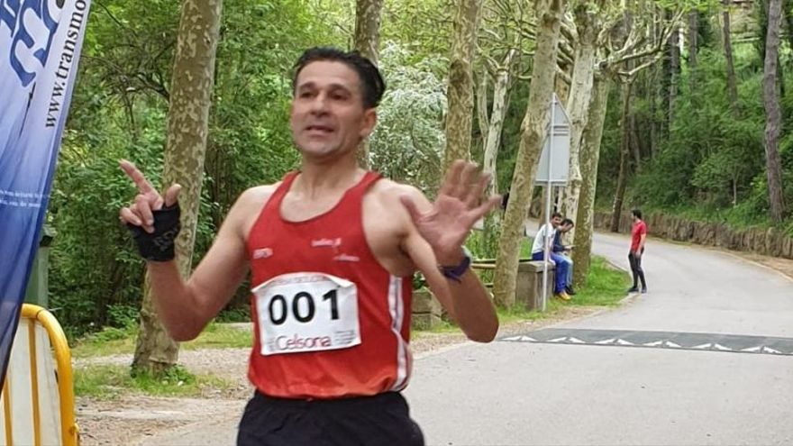 «Tinc ganes de córrer durant molts anys més, em trobo en bona forma tot i l'edat»