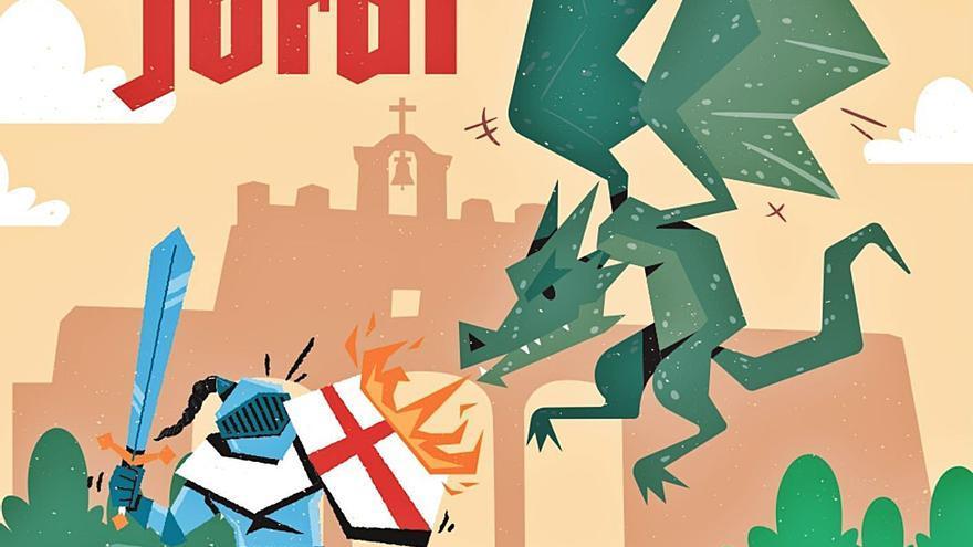 Magia, música y deporte para las fiestas de Sant Jordi