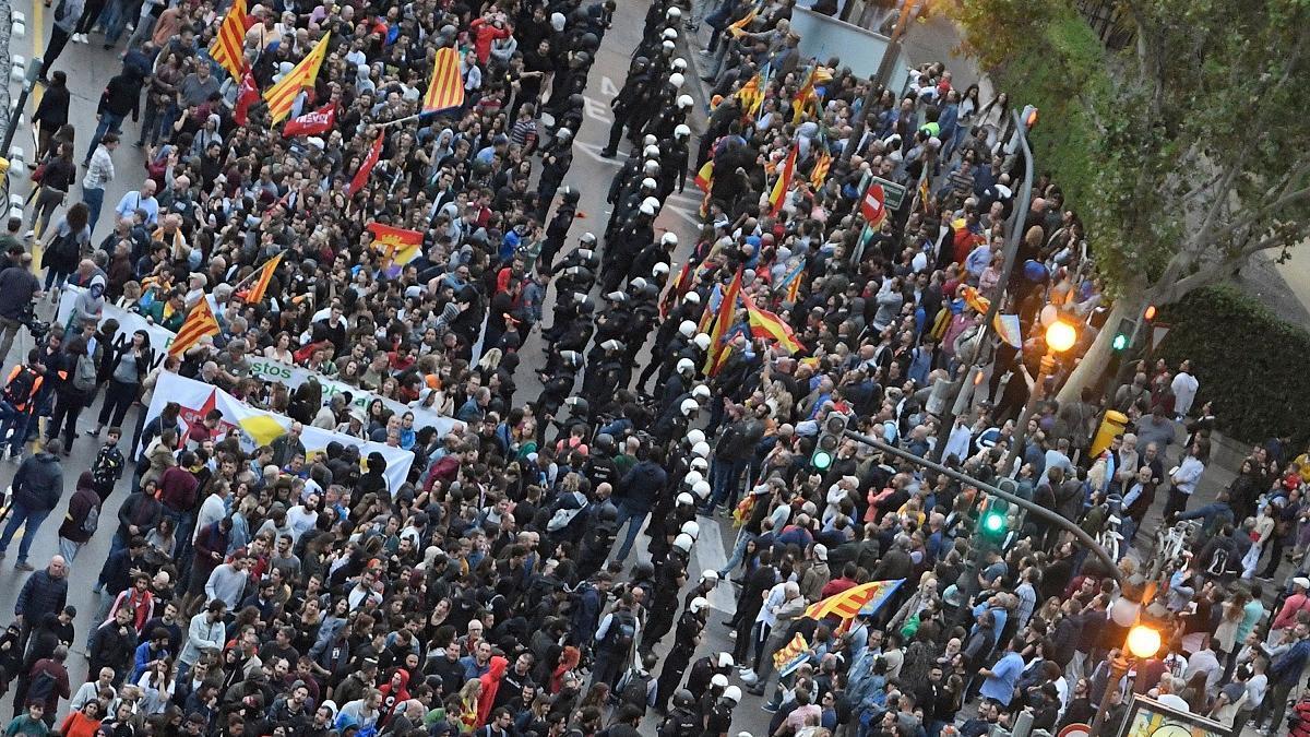 Manifestación 9 d'octubre