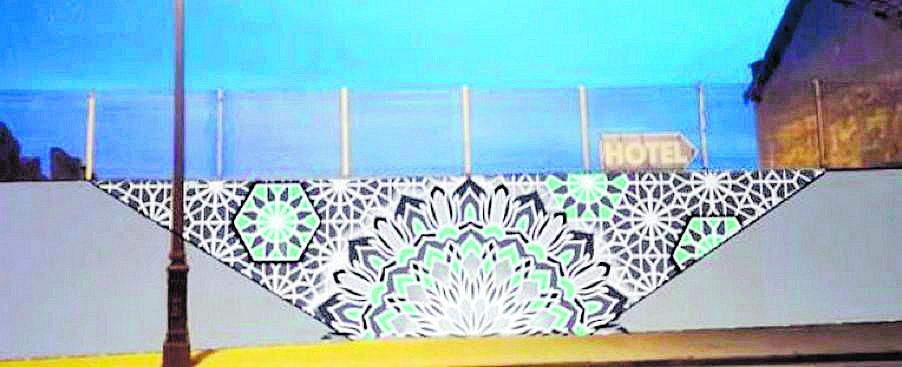Gijón cede espacio  al arte urbano