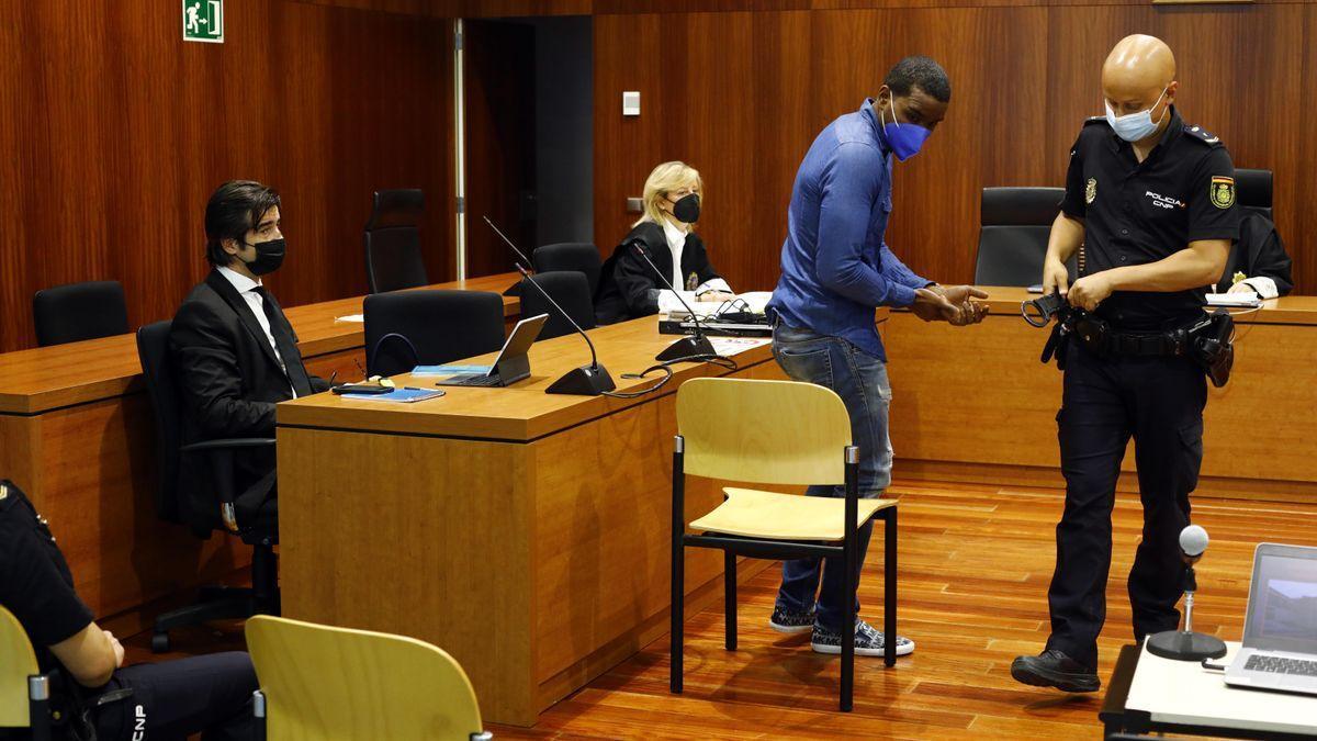 El acusado, en una sesión de la vista oral.