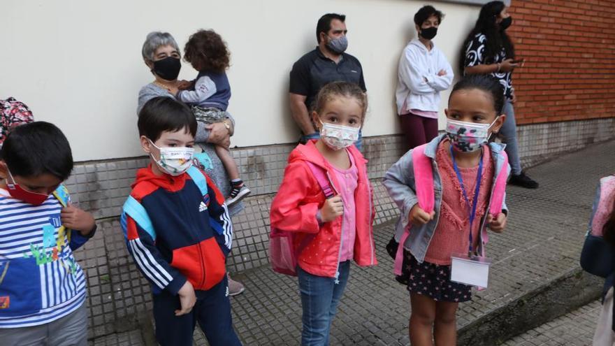 Gijón: vuelta a las aulas con separación, mascarilla y sin lloros