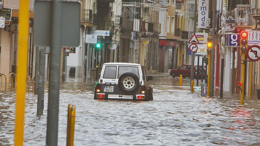 Unas lluvias con un perfil más monzónico que mediterráneo