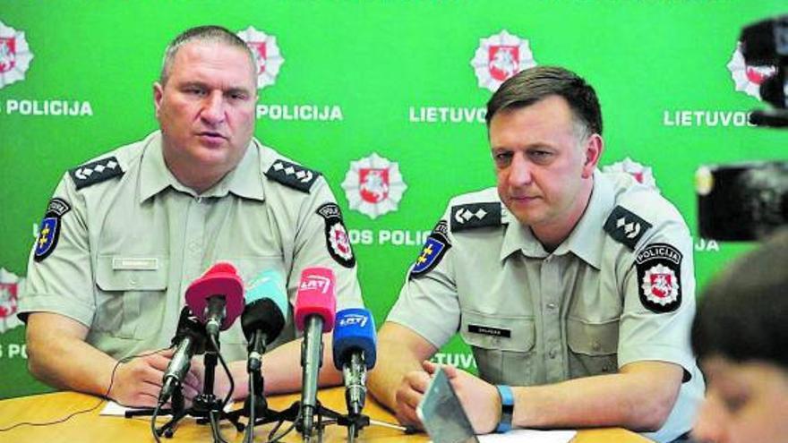 Dos policías y la herencia de un lituano
