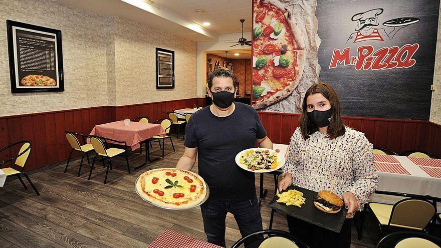 El Mr. Pizza renace con especialidades 'gourmet' y ensaladas