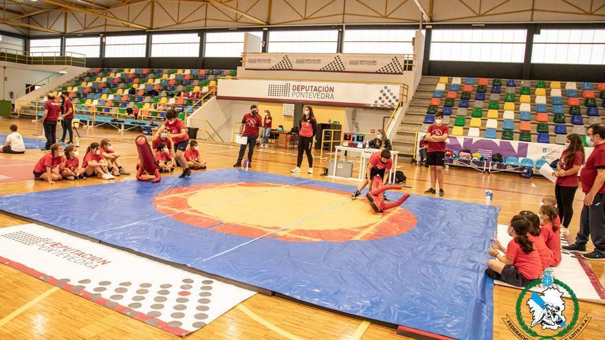 El Keltoi y A Cambadela participan en las Depoescolas celebradas en Pontevedra