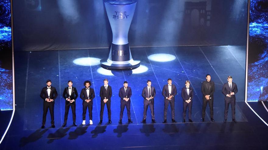 4 jugadores del Madrid y 2 del Barça en el once ideal
