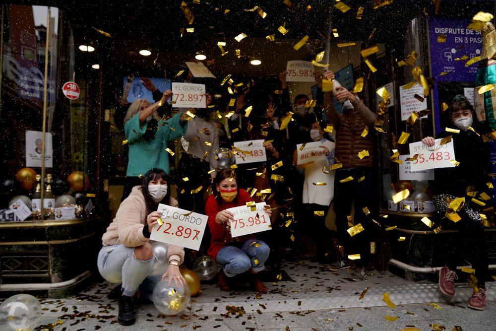 Los premiados de la Lotería de Navidad 2020
