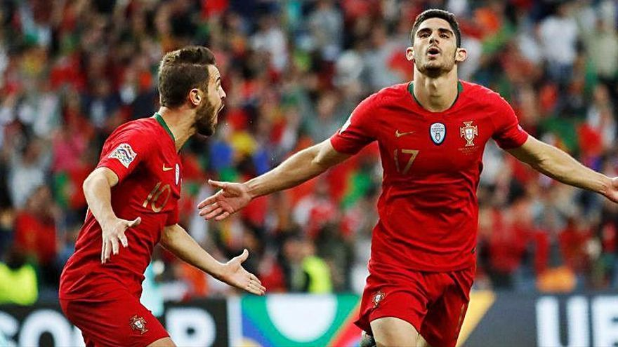 Guedes irá a la Eurocopa