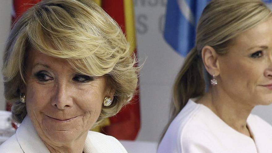 El juez de la Púnica imputa a Aguirre y a Cifuentes