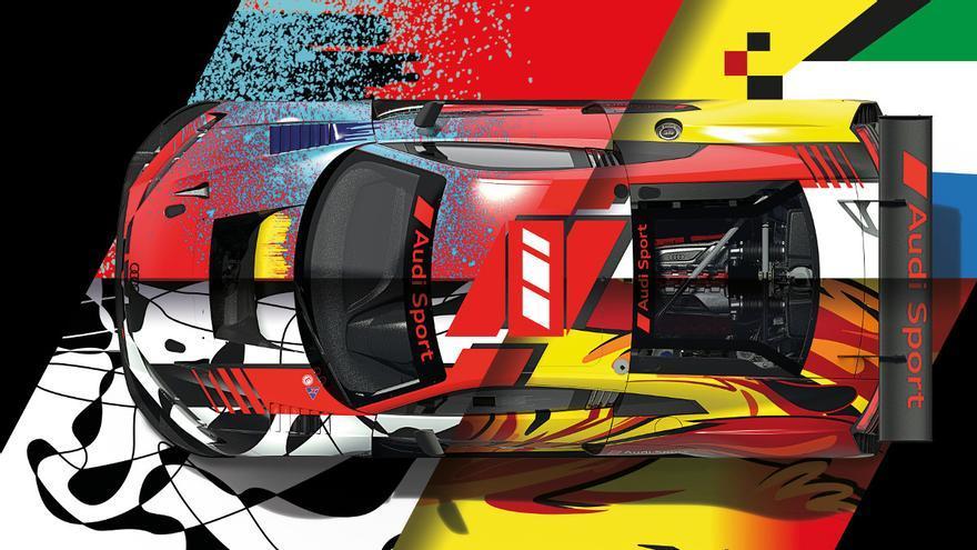Audi Sport celebra el centenario de Spa con cuatro decoraciones especiales para sus coches GT3
