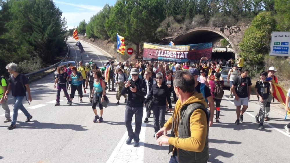 La Marxa per la Llibertat de la Catalunya Central