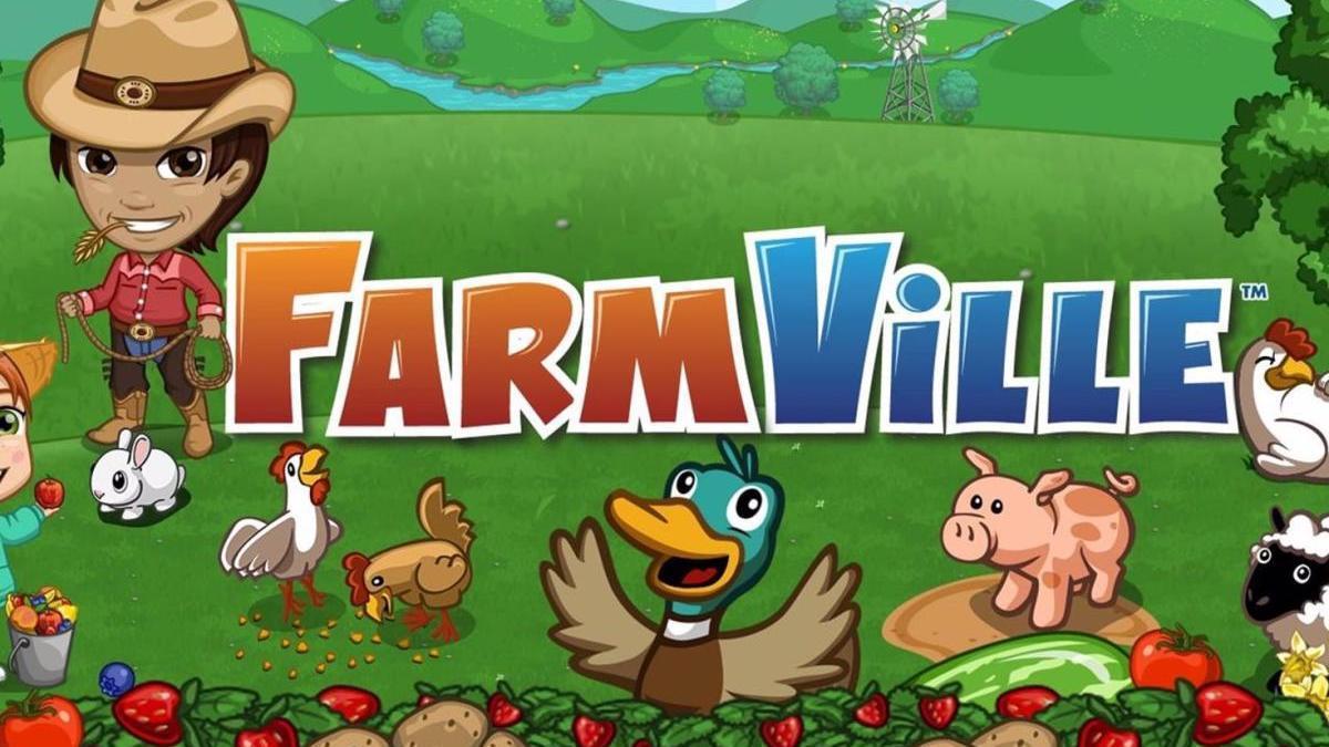 El videojuego Farmville.