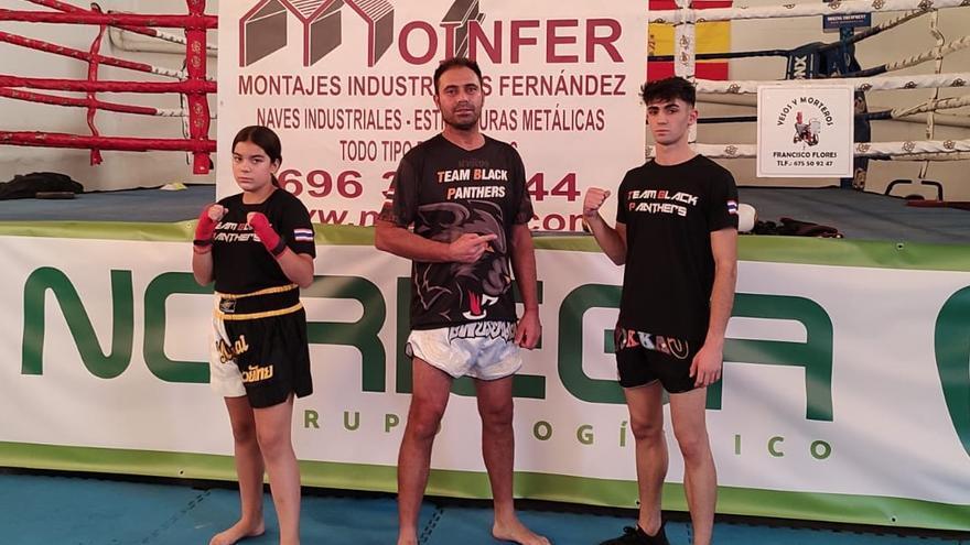 El Team Black Phanters en el Mundial de Kick Boxing y Muay Thai