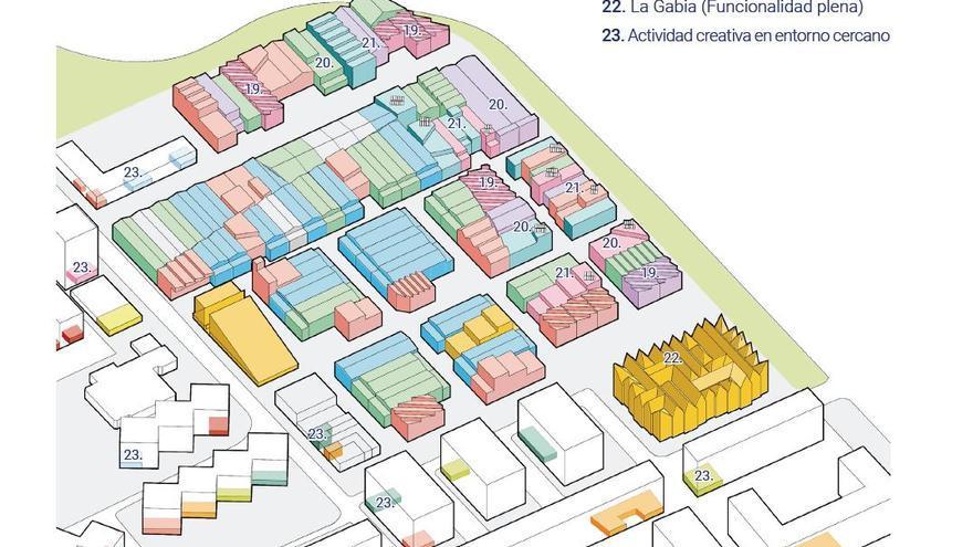Las fases de un desarrollo de la Ciudad del Artista Fallero