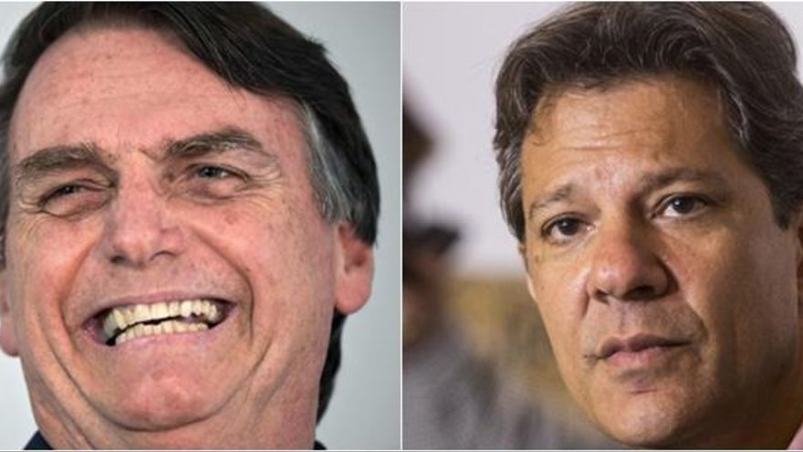 Bolsonaro, favorito para ser nuevo presidente brasileño