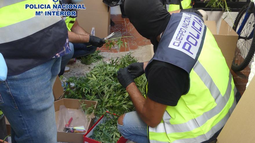 Tres detenidos en una operación contra el narcotráfico en Puerto Lumbreras
