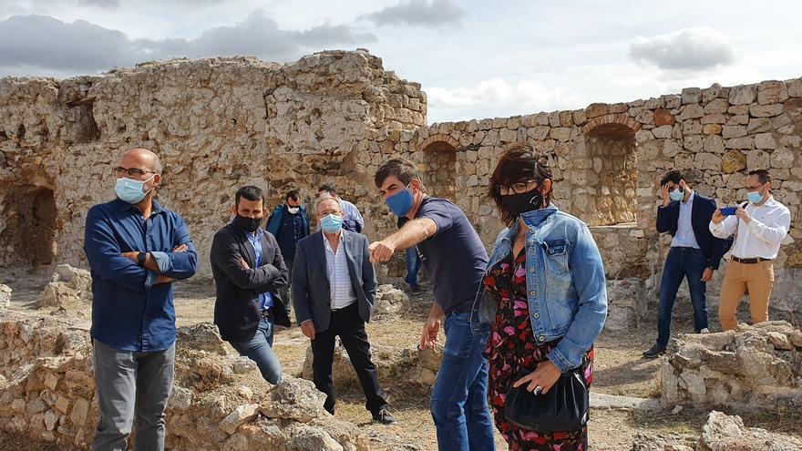"""Marzà: """"El castillo de Jalance es un ejemplo de colaboración efectiva en la recuperación del patrimonio"""""""