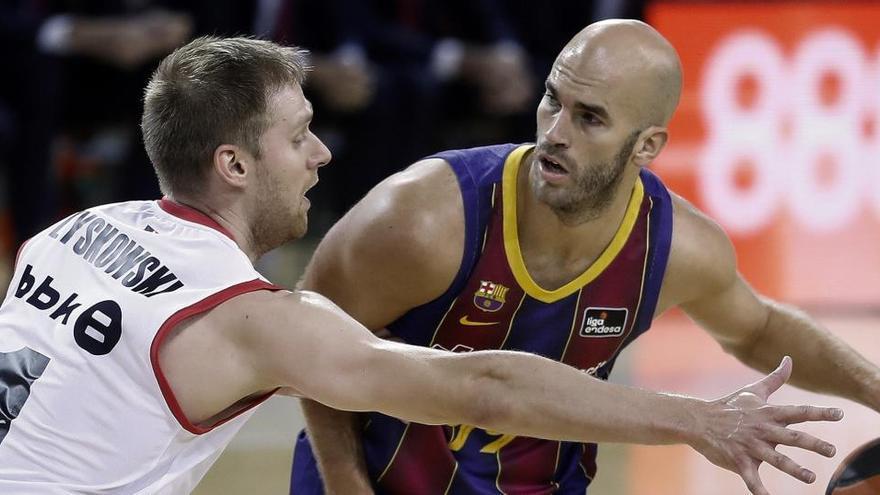 El Barça se impone al Bilbao Basket 82-64 tras romper el partido en el tercer cuarto