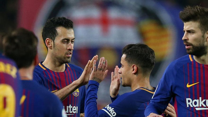 El Espanyol pide que se estudien las declaraciones de Piqué y Busquets