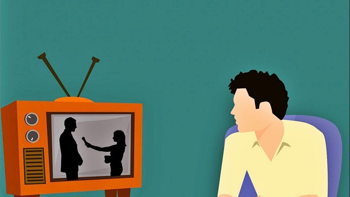 Con el confinamiento ha aumentado el consumo de televisión.   LEVANTE-EMV