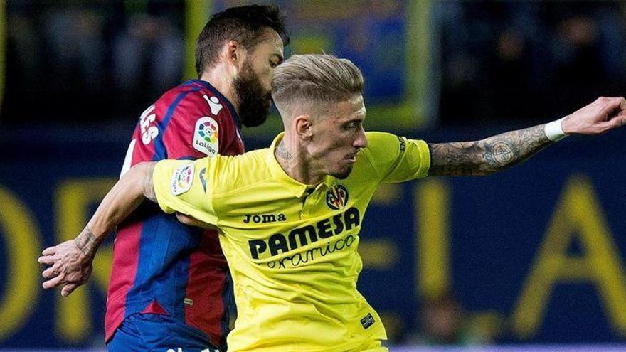 """Castillejo: """"Estoy muy a gusto en el Villarreal"""""""
