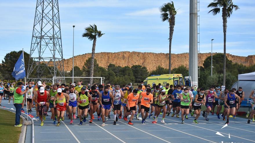 """200 corredores participaron en el """"Cross Primavera de La Nucía"""""""