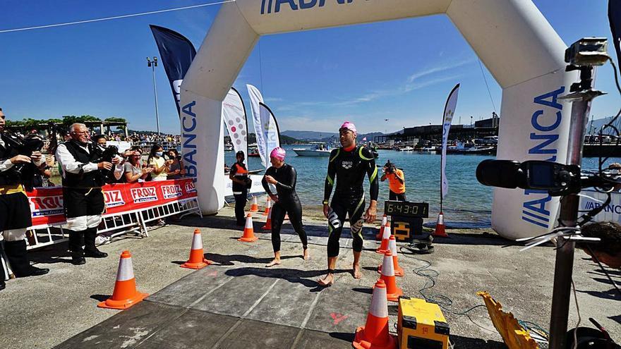 Alberto Taboada y Andrea de la Hera se imponen en la Triple Corona Illas Atlánticas