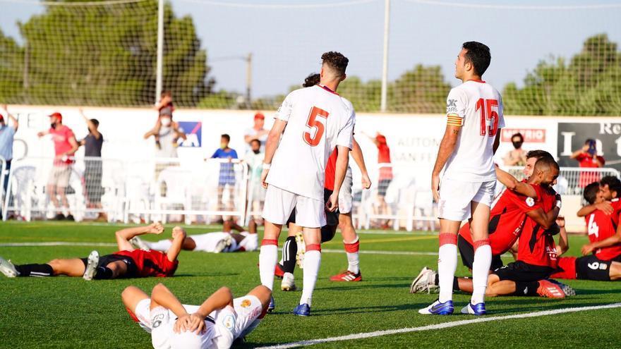 El Mallorca B se queda sin ascenso a Segunda RFEF