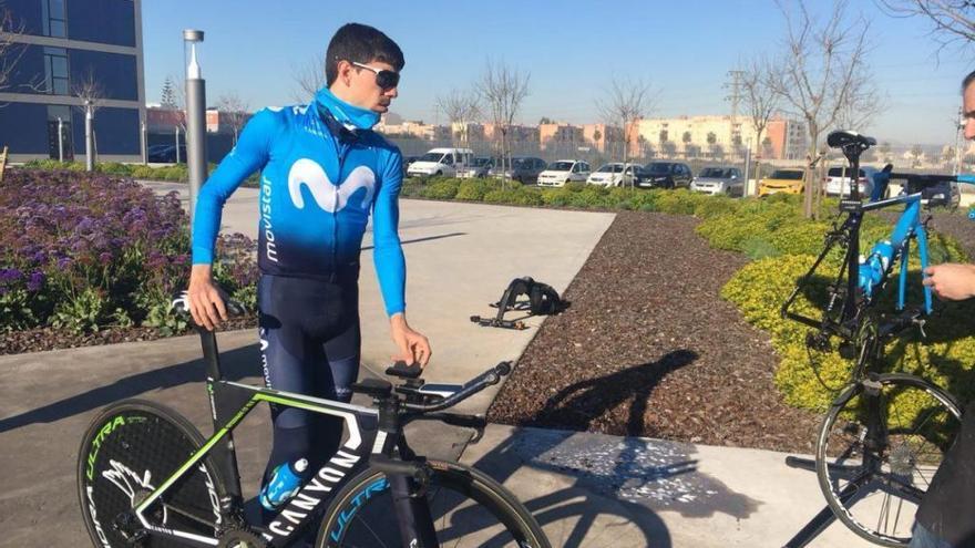 Jaime Rosón participa desde el miércoles en la Volta a la Comunitat Valenciana
