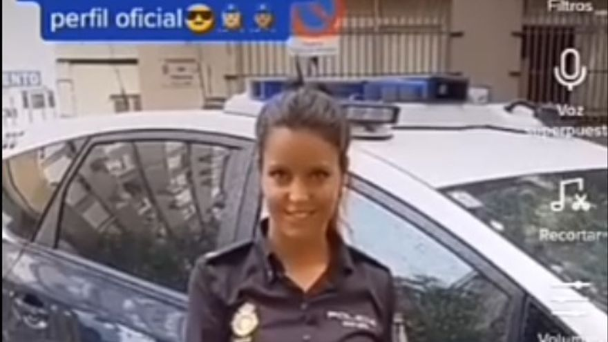 La Policía Nacional se estrena en TikTok