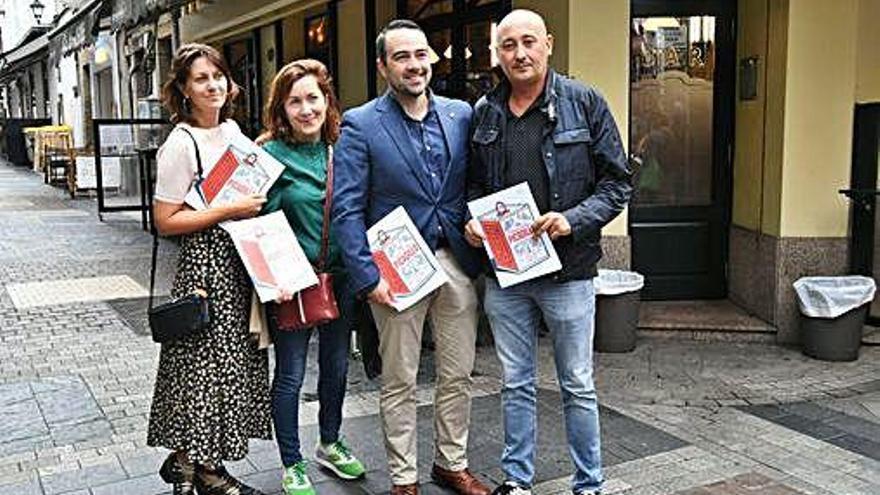 El jurado del Concurso Picadillo degusta las tapas de la categoría 'Maridaxe'