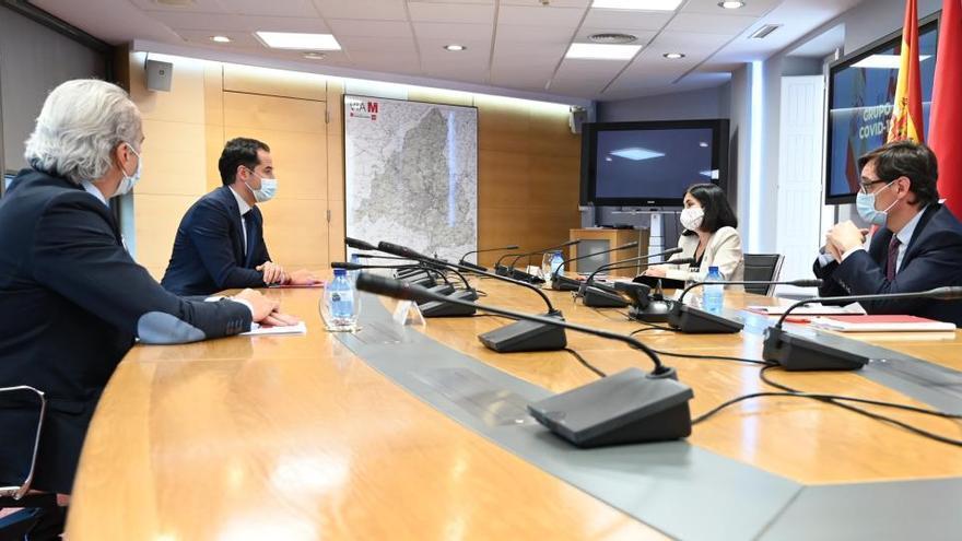 Así será la agenda del 'grupo Covid' Gobierno-Madrid