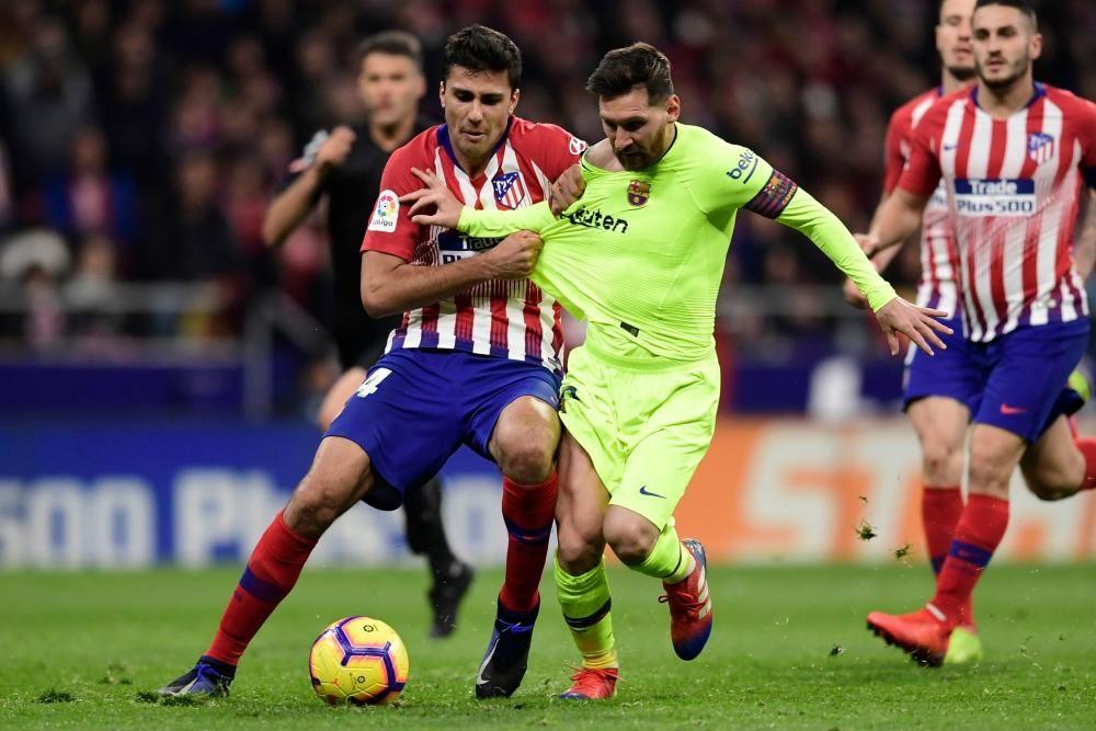 Las imágenes del Atlético - Barcelona.