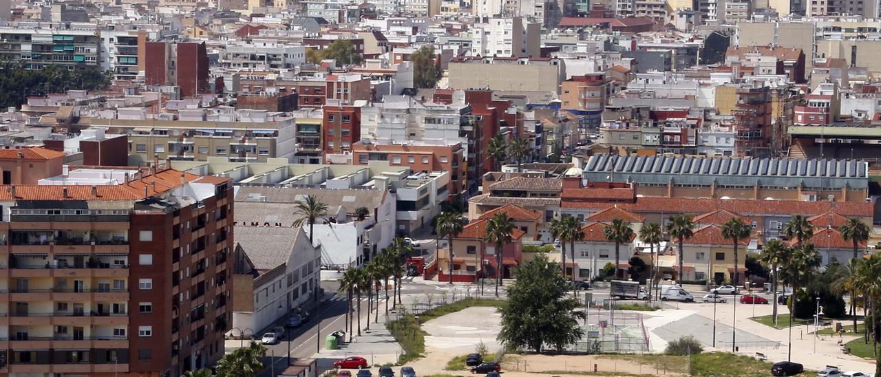 Vista general de Alzira.