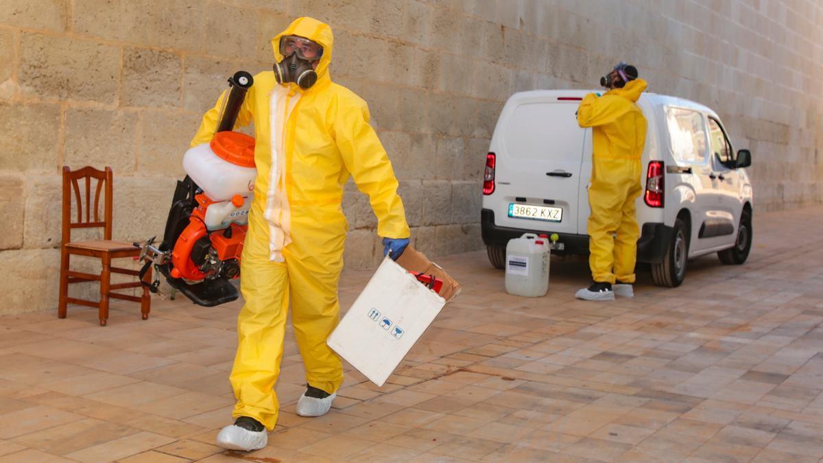 Desinfectan el monasterio de Santa Faz tras un brote que afecta a nueve monjas