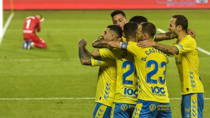 Las Palmas también puede con un Leganés en inferioridad (2-1)