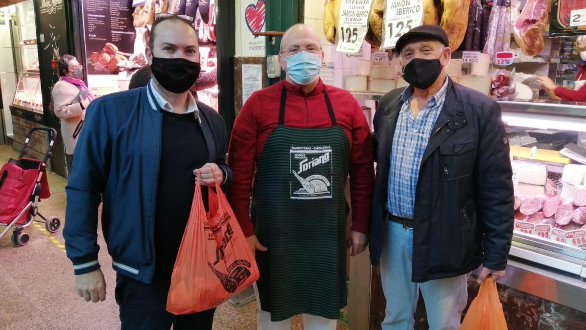 El grupo municipal Podemos anima a comprar en el comercio de cercanía