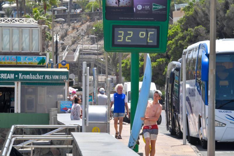 Las temperaturas seguirán altas en el Archipiélago