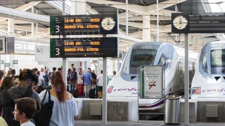 Adif anuncia que el AVE no llegará a Oviedo ni a Gijón