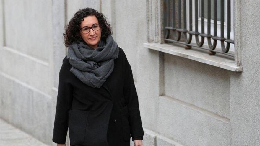 """Marta Rovira: """"No podemos explicar todo lo que hicimos porque tenemos compañeros en la cárcel"""""""