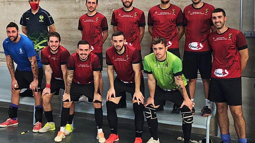 El ascenso, única meta del Llocnou de Sant Jeroni en la liga de fútbol sala
