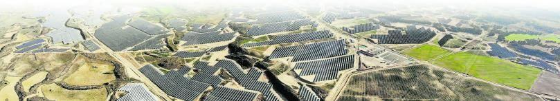 El parque solar Escatrón, en Zaragoza, con 1.400 hectáreas.
