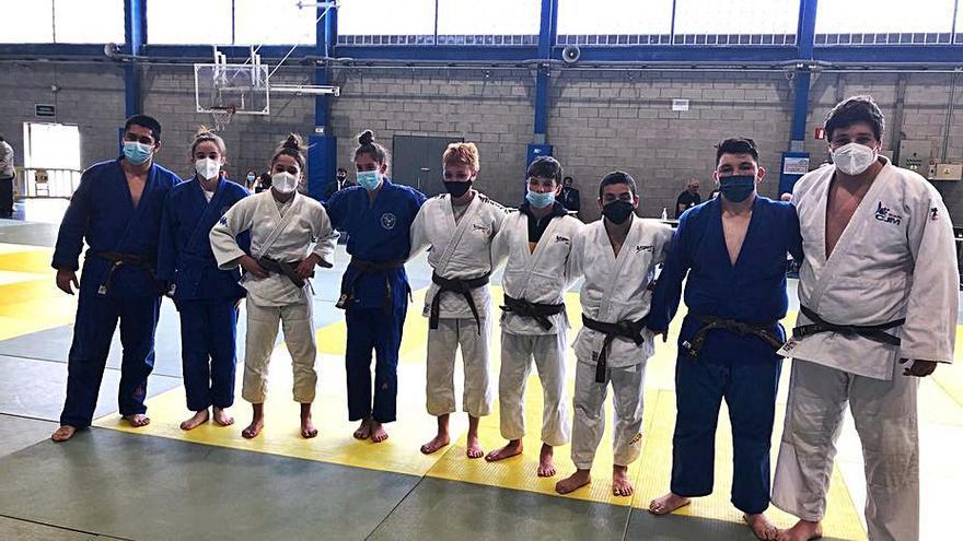 Tres títols i dotze podis dels nostres judokes en els catalans cadets