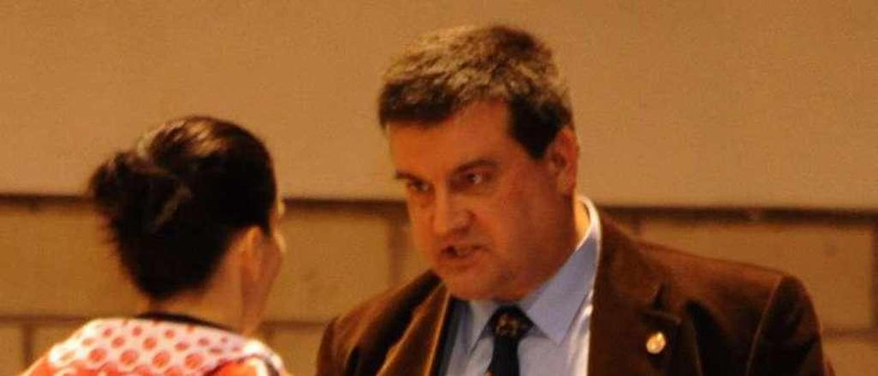 Chiqui Barros en un encuentro. // Iñaki Abella